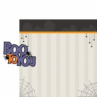 Boo Crew: Boo To You 2 Piece Laser Die Cut Kit
