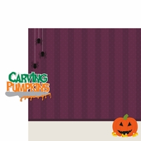 Boo Crew: Carving Pumpkins 2 Piece Laser Die Cut Kit