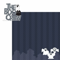 Boo Crew: The Boo Crew 2 Piece Laser Die Cut Kit
