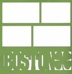 Boston Clover 12 x 12 Overlay Laser Die Cut