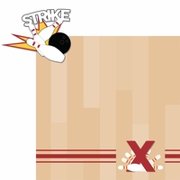Bowling: Strike 2 Piece Laser Die Cut Kit