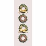 Boxwood Wreathes Mini Stickers