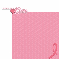 Breast Cancer: Fight for a Cure 2 Piece Laser Die Cut Kit