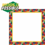 Brick Builder: Anything is Possible 2 Piece Laser Die Cut Kit