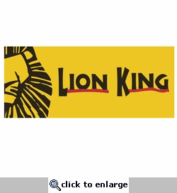 Broadway: Lion King Laser Die Cut