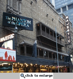 Broadway Theatres: Majestic 12 x 12 Paper
