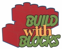 Build With Blocks Laser Die Cut
