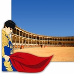 Bullfighter 2 Piece Laser Die Cut Kit