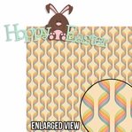 Bunny Hop: Hoppy Easter 2 Piece Laser Die Cut Kit