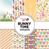 Bunny Time Assorted 12 x 12 Paper Pack