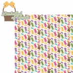 Bunny Time: Basketful Of Treats 2 Piece Laser Die Cut Kit