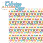 Bunny Time: Coloring Eggs 2 Piece Laser Die Cut Kit