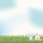 Bunny Time: Easter Egg Hunt 12 x 12 paper