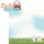Bunny Time: Easter Egg Hunt 2 Piece Laser Die Cut Kit
