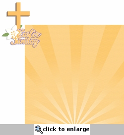 Bunny Time: Easter Sunday 2 Piece Laser Die Cut Kit