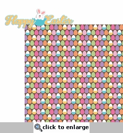 Bunny Time: Happy Easter 2 Piece Laser Die Cut Kit
