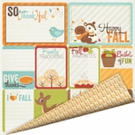 Bushels O' Fall: Give Thanks 12 x 12 Double-Sided Cardstock