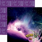 Buzz in Space 12 x 12 Double-Sided Paper