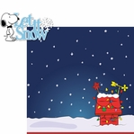 C.B. Christmas: Let It Snow 2 Piece Laser Die Cut Kit