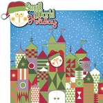 California Adventure: Small World Holiday 2 Piece Laser Die Cut Kit