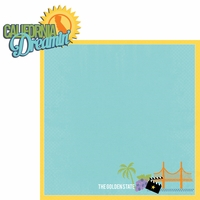 California Travels: CA Cali Dreamin' 2 Piece Laser Die Cut Kit