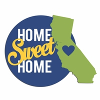 California Travels: CA Home Sweet Home Laser Die Cut