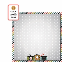 Camera Shy: Click Snap 2 Piece Laser Die Cut Kit