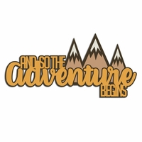 Camp: Adventure Laser Die Cut