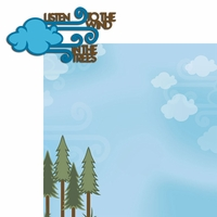 Camp Out: Listen to the Wind 2 Piece Laser Die Cut Kit