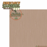 Camp Out: Love of Smores 2 Piece Laser Die Cut Kit