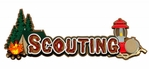 Camping & Outdoors: Scouting Title Laser Die Cut