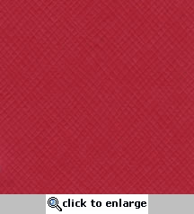 Candy Apple Criss Cross 12 X 12 Bazzill Cardstock (Red)