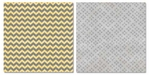 Capri: Gray Chevron 12 x 12 Double-Sided Paper