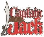 Captain Jack Laser Die Cut