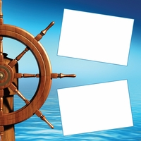 Captain's Wheel Frames 12 x 12 Paper