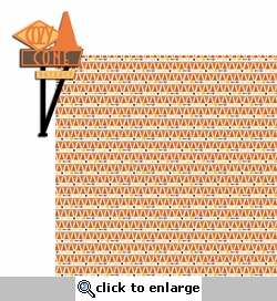 Carland: Cozy Cone 2 Piece Laser Die Cut Kit