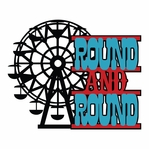 Carnival Fun: Round And Round Laser Die Cut
