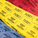 Carnival: Tickets 12 x 12 Paper