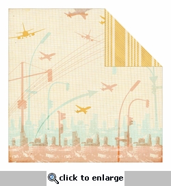 Carte Postale: Broadway Double-Sided Cardstock
