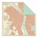 Carte Postale: Michigan Ave Double-Sided Cardstock