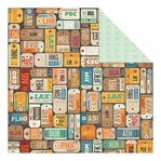 Carte Postale: Wall Street Double-Sided Cardstock