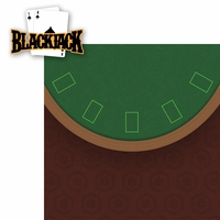 Casino: Blackjack 2 Piece Laser Die Cut Kit