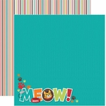 Cat 12 x 12 Double-Sided Cardstock