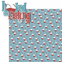 Catch of the Day:  Hooked On Fishing 2 Piece Laser Die Cut Kit