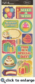 Celebrate 5 x 12 Sticker Sheet