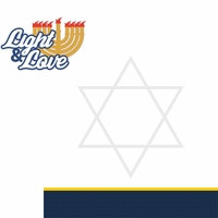 Celebrate Hanukkah: Light & Love 2 Piece Laser Die Cut Kit