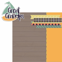 Celebrating Grandparents: Great Grandpa 2 Piece Laser Die Cut Kit