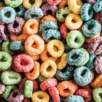 Cereal: Fruit Loops 12 x 12 Paper