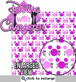 Character Dining: Dining With Character Princess Laser Die Cut Kit