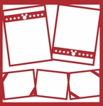 Character Frames 12 x 12 Overlay Laser Die Cut